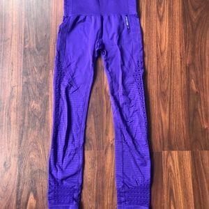 Gymshark seamless purple leggings
